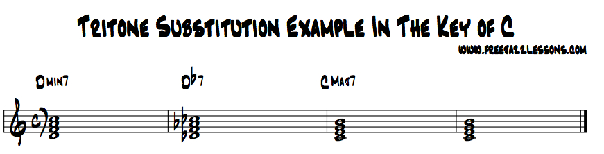 tritone substitution
